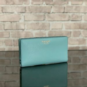 KATE SPADE CAMERON LEATHER BIFOLD WALLET BAG $119